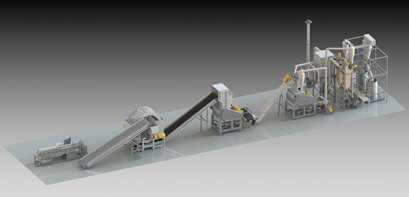 ETS tire recycling plants « Genox Shredders